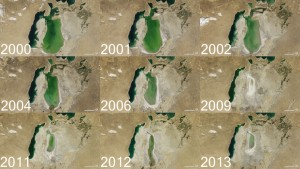 Evolutia Marii Aral intre anii 2000-2013