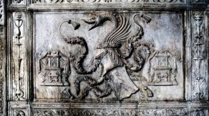 Piatra funerara descoperita in Napoli si atribuita lui Vlad Tepes