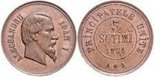 5 sutimi cuza 1864