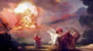 Sodoma si Gomora explozie atomica
