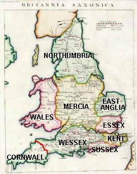 Regatele britanice in timpul lui Egbert
