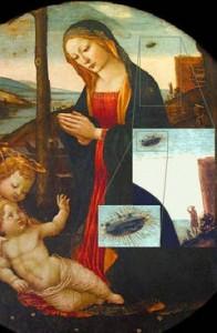 Un-OZN-prezent-pe-icoana--Madonna-cu-Sf--Giovannino---din-secolul-XV-