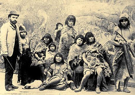 gradina zoologica umana paris 1889