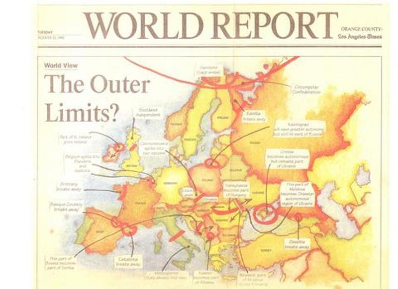 harta conspiratiei europene