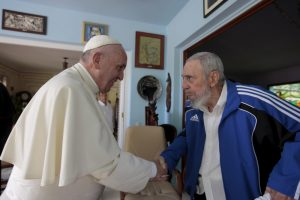 fidel castro papa francisc 2015