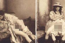 Fotografii document din secolul XIX, realizate intr-un bordel din Cluj. ATENTIE CONTINUT EXPLICIT +18 !!!